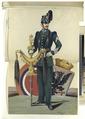 "Soldier, ""Schellenbaum"" and Esternach coat of arms (NYPL b14896507-92719).tiff"
