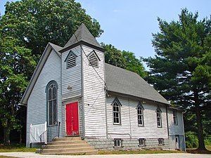 Gloucester Township, New Jersey - The former Solomon Wesley United Methodist Church