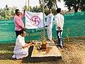 Somvati yag at Veerabhadra Devasthan Vadhav in presence of Balyogi Om Shakti Maharaj. 09.jpg