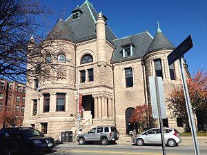 Pollard Memorial Library - South Entrance