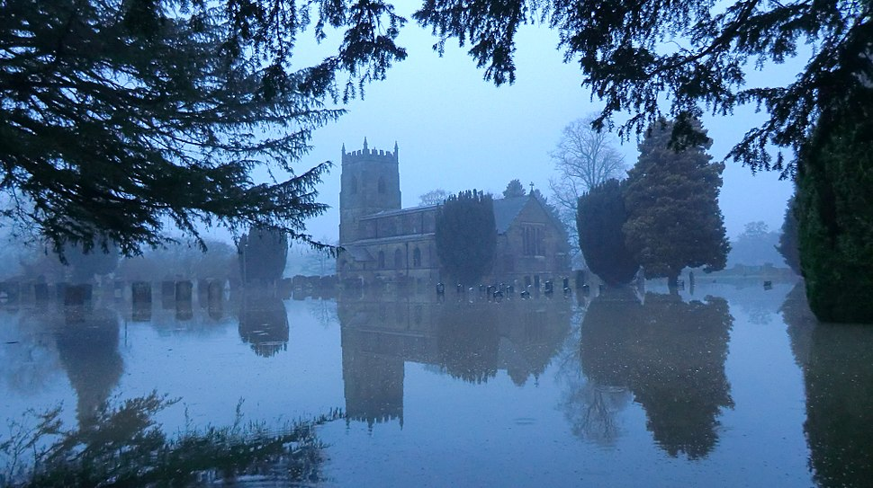South Wingfield Church flooded.jpg
