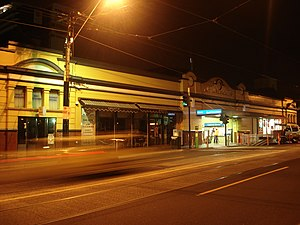 South Yarra railway station - Station front in May 2011