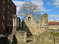 Southampton Norman House (known as Canute's Palace).jpg
