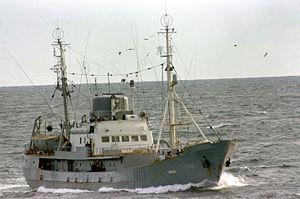 Soviet intelligence collection ship, 1986.JPEG