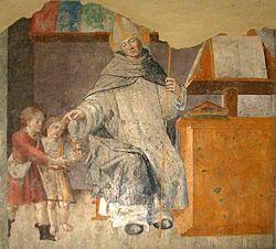 La carità di Sant'Antonino, Arcivescovo di Firenze (opera di Giovanni Martino Spanzotti)