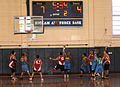 Special Olympians play basketball at the Hickam gym at Joint Base Pearl Harbor-Hickam, Hawaii, Dec. 4, 2010 101204-F-TP543-169.jpg