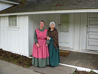 Rancho Cañada de los Osos y Pecho y Islay - Old Spooner Ranch House, living history program, 2005