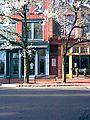 Spring Morning Washington Street with Empty Bench.jpg
