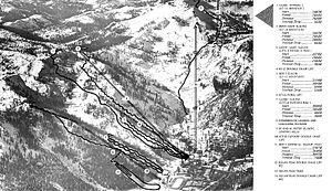 Squaw Valley Ski Resort - Alpine runs of the 1960 Winter Olympics