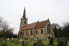 St.Lawrence's church, Revesby, Lincs. - geograph.org.uk - 85749.jpg