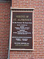 St. Alphonsus Church sign - Baltimore.JPG