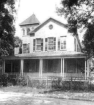 Katharine Drexel - St. Benedict the Moor School, St. Augustine (c. 1898), paid for by St. Katharine Drexel
