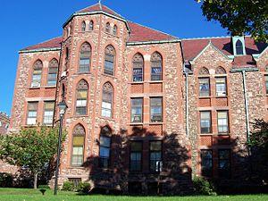 Saint Bernard's Seminary - Image: St. Bernard's Seminary north wing