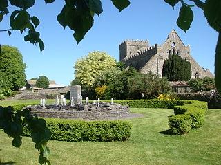Gowran Town in Leinster, Ireland