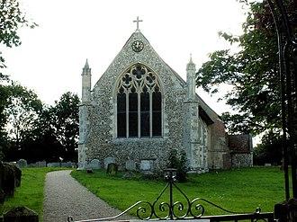 Raydon - Image: St. Mary's church, Raydon, Suffolk geograph.org.uk 231713