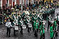 St. Patrick's Day Parade (2013) In Dublin - Brewster High School Marching Bears, New York, USA (8565223657).jpg