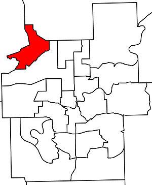 St. Albert (provincial electoral district) - 2010 boundaries