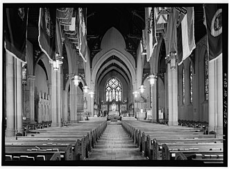 St. Paul's Cathedral (Buffalo, New York) - Image: St Pauls Cathedral Buffaloinside