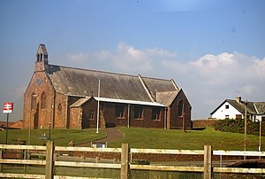 Listed buildings in Seascale - Image: St Cuthbert's Church, Seascale geograph.org.uk 1348646