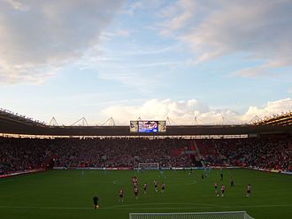 View from the Chapel Stand St Mary's Stadium Southampton.jpg