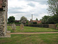 St Mary's church - view across the churchyard - geograph.org.uk - 1313635.jpg