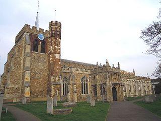 St Marys Church, Hitchin Church in England