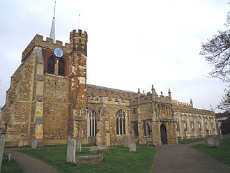 St Mary's Church, Hitchin - Image: St Marys Hitchin