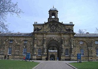James Paine (architect) - Image: Stable block Chatsworth