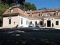 Stable of the Erdődy-Pallavicini Mansion in Szilvásvárad, 2016 Hungary.jpg