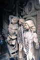 Stack of semifinished idols in Kumortuli, Kolkata 04.jpg