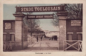 Stade Ernest-Wallon - Image: Stade Toulousain Stade Ernest Wallon