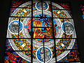 """Stained Glass """"Science"""" in the lobby of NSU 0528.JPG"""