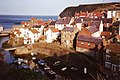 Staithes harbour from Cowbar - geograph.org.uk - 585460.jpg