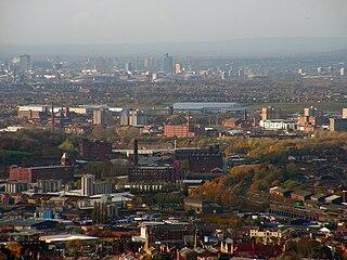 Stalybridge town in the Metropolitan Borough of Tameside in Greater Manchester, England
