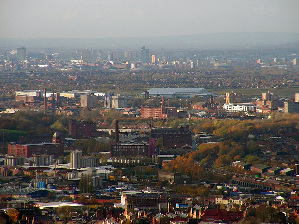 Stalybridge towards Manchester