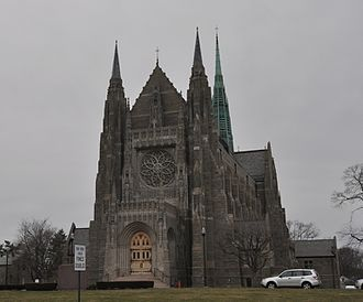 St. Mary's Church (Stamford, Connecticut) - Image: Stamford CT St Marys Church