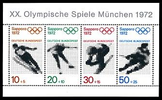 Briefmarken Jahrgang 1971 Der Deutschen Bundespost Wikipedia
