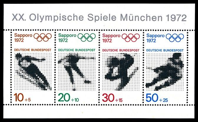 Briefmarken Jahrgang 1971 Der Deutschen Bundespost Wikiwand
