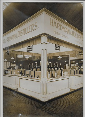 Royal Jubilee Exhibition - Hardman & Holden stand at the exhibition