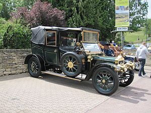 Standard Motor Company - 1910 Thirty cabriolet with division