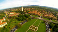 Stanford University view of the Oval Arial View.jpg