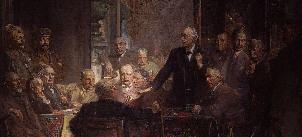Statesmen of World War I by Sir James Guthrie - Detail