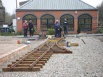 Moseley Railway Trust - Image: Station 1