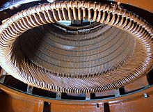 Stator of an electric water pump.jpg