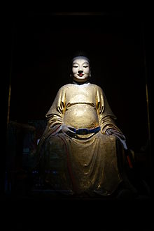 Statue of Liu Chen in the Temple of Marquis Wu 2014-09.JPG
