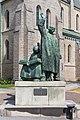 Statue of Olaus and Laurentius Petri, Örebro.jpg