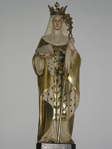 File:Statue of St. Etheldreda in the RC church in Ely, Cambridgeshire, UK.JPG