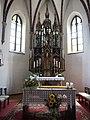 Steinbach am Attersee Kirche Altar.JPG