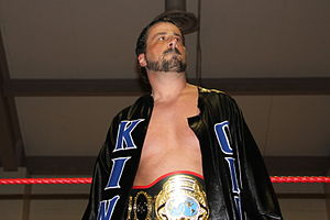 Steve Corino - Corino as the PWF Northeast Heavyweight Champion in 2012