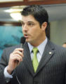 Steve Crisafulli seeks the support of his colleagues for a measure considered on the House.png